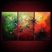 Cheap 3 Piece Wall Art Modern Canvas Abstract Art Of Oil Painting For Sale Art Print For Home Decoration