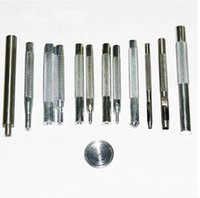 Wholesale One set mm Hand Punch Tool Set For Poppers Metal Snap Fasteners Press Studs Button Installation Tools G090