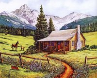 area offers - 2015 New Special Offer d Diy Diamond Painting Full Area Highlight Needlework Hand Embroidery Cross Stitch Leisure Ranch