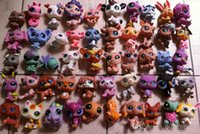 Wholesale The head can rotate Q Pet Littlest Pet Shop LPS Animals Toy different styles