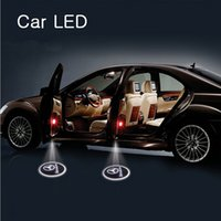 Wholesale No damage Car LED wireless projection LOGO Mark Door Welcome Light Door Step Ground Projecting Lamp for all brands for BMW DHL free