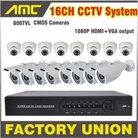 surveillance video camera - 600TVL IR CCTV Camera video surveillance cctv system ch DVR Kit security camera systemStand alone HDMI DVR recorder