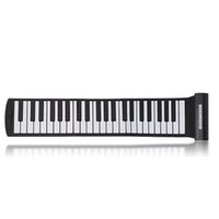 Wholesale 88 Keys online Digital Roll up Soft Keyboard Piano With MIDI Electronic Organ For Kid s children s Gift