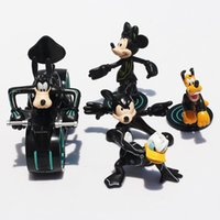 Cheap 5Pcs set Cartoon Movie Mickey & Minnie Donald Duck PVC Action Figure Doll Toys Doll 6~13CM Free Shipping