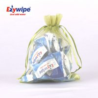face cleaning wipes - Ezywipe Disposable Mini Compressed Towels Sport Towels Magic Face Towels Make Up Cleaning Wipes Towels