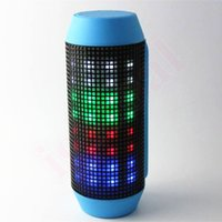 beautiful note cards - Dazzle Beautiful Color Speaker Portable Q600 Wireless Bluetooth Spkear With Led Light Support TF Card For iphone Samsung Note MP3