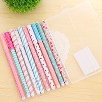 Wholesale Korean Cute Little Watercolor Pen Gel Pens Set Color Kandelia Stationery