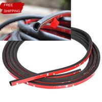 Wholesale 4 Meter car styling BIG D weather stripping seal the door seal Reduce wind noise waterproof strip High quality