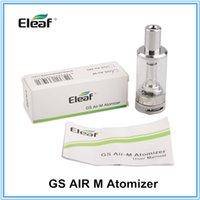 air upgrades - Eleaf Ismoka GS Air M Atomizer ml GS Air MS ml Atomizer ohm Coil Airflow Adjustable Upgraded AFC w W istick Box