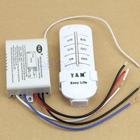 Wholesale New Wireless Channel ON OFF Lamp Remote Control Switch Receiver Transmitter order lt no track