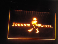 Wholesale jb Johnnie Walker Whiskey Wine Bar LED Neon Light Signs