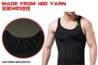 Cheap Men's Slimming Body Shaper Belly Fatty Underwear Vest Shirt Corset Compression shapewear corset Training Cincher Underbust Corset