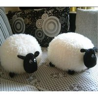 Wholesale Hot Cute Lovely Soft Plush Stuffed Cantoon Animal Sheep Toys for Baby Infant Gift dandys