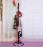bedroom shelves - European Metal Clothes Hanger Stand Creative Tree Coat Stand Bedroom Coat Rack Pastral Tree Leaf Coat Stand cm cm cm