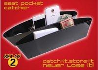 automobile seats - Car Styling set Car Seat Pocket Catcher Car Storage Box Automobile Glove Box