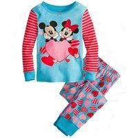 Cheap babys sleepwear cotton pajamas boys girls clothing infant baby clothes children's pajama sets underwear sets #04