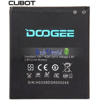 Wholesale Original Doogee DG800 V mAh Mobile Phone Battery Backup Battery for Doogee DG800 Batterie Batterij Bateria In Stock