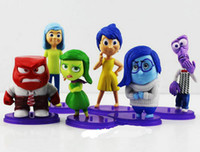bags pack figure - Inside Out PVC Toys Figure Cartoon Movie Inside Out Toys doll Collection PVC Dolls opp bags packing toys and gifts