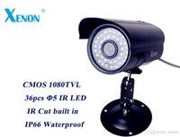Wholesale 1080TVL cctv camera waterproof outdoor High Resolution CMOS IR Day Night Video Surveillance Camera Security CCTV Camera Build in IR CUT