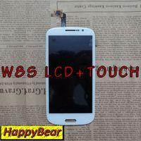 Visualización original del LCD de la pantalla táctil del reemplazo + asamblea de pantalla Para THL W8S envío gratuito