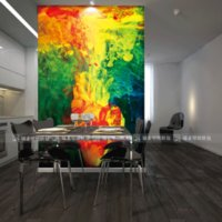 Wholesale Seamless mural large ink painting seamless mural sofa entranceway antibiotic