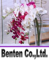 artificial orchid flower - PU Phalaenopsis Real Touch Butterfly Orchid cm quot Fake Orchids Artificial Orchid Flower For Wedding Decoration WholesaleLLFA2984F