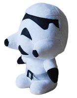 Jouets Star Wars 4 Styles Action Figures 7 pouces jouets Maître Yoda Stromtrooper Poupées Enfants peluche