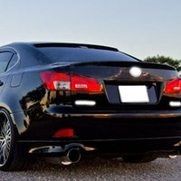 Wholesale Car Styling ABS Material Rear Spoiler For Lexus IS350 IS250 High Quality Auto Decoration Accessories