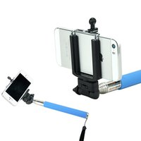 Wholesale New Portable Automatically Photographed Monopod Wireless Bluetooth Remote Control For Iphone Samsung