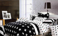 american flag bedding - 5SET LJJH844 American flag cotton bedding with stars and stripes print duvet cover bed sheet bedclothes bed linen comforter