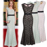 Wholesale New Fashion Summer Celebrite Lace Dresses Maxi Gown Street Style Girls Best Sale Bodycon European and American Style Lady Party Dresses