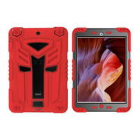 air resistance car - For Ipad Mini Mini4 tablet Hybrid Hard Plastic Soft Slicone Armor Shockproof Case Ironman Car Robot Defender Kickstand Stand Cover