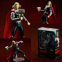 Wholesale 15CM The Avengers Thor Figma PVC Action Figure Collectible Model Toy Joints Moveable Figma Action Figure Series