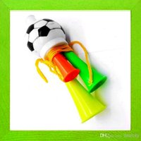 Wholesale New Arrival Vuvuzela World Cup Trumpets Fans Horn Special plastic horns Football Soccer games necessary Athletic Football Games Product