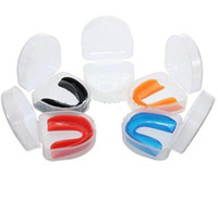 Wholesale Boxing Basketball Plasticity Gum Shield Mouth Guard Piece Teeth Protector Sport Products