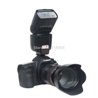 Wholesale Brand new WS Professional Flash Speedlite for Nikon D3100 D3200 D5100 D7000 D7100 Canon D D D D D D D