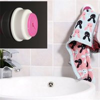 Wholesale Hot Selling Plastic Self Adhesive Tea Towel Dishcloth Grip Holder Hanger Push In Wall Mounted Type for Kitchen Bathroom Toilet