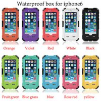 red pepper - Red pepper Waterproof Water Proof redpepper Shockproof Swimming Diving cases cover Case for iphone apple inch factory price