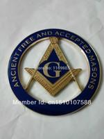 Wholesale Freemasonry Masonic car emblem badge