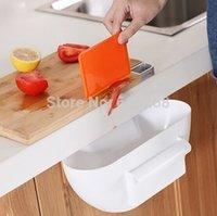 Wholesale Plastic storage box garbage storage bins kitchen container storage drawers color creative kitchen