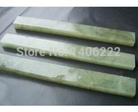 al por mayor joya de pulido de piedra-Natural strickenly 10.000 cuchillo gema verde piedra de afilar espejo pulido pulpstone 100 * 10 * 5 mm para track $ 18Nadie