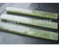 achat en gros de pierre gemme polissage-Natural strickenly 10000 couteau joyau vert pierre à aiguiser polissage miroir pulpstone 100 * 10 * afin 5mm $ 18Personne piste