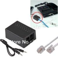 Wholesale 3 MM Laptop PC PEN Rj11 Fixed Line Phone Telephone voice Call Recorder Adapter pen light pen