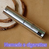 Cheap New arrival Nemesis Mechanical Mod Clone White Nemesis Mod electronic cigarette 18650 MOD