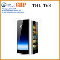 mobile phone tv mobile phone - Original THL T6 Pro T6S Mobile Phone MTK6592M Octa Core Inch x720 IPS Android MP GB RAM GB ROM Dual SIM GPS Ghp