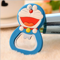 Wholesale 24pcs bottle openner fridge magnets magstickers cartoon silicone multifunction screwdriver creative small gifts practical refrigerator