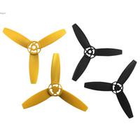La alta calidad de las cuchillas principales Rotores Apoyos 3-Hoja Propulsores CW + CCW para el loro Bebop Drone 3.0 envío rápido 60