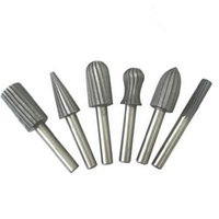 Wholesale 6pcs mm quot Rotary Burr Set HSS Rotary Files For Metal Plastic Wood Grinding