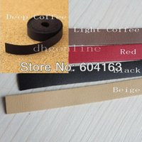Wholesale Garment Accessories Cords PU faux Leather cm handle Strap Replacement Purse Bag mm MIX Color Choice