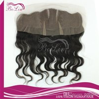 Cheap body wave lace frontal Best Virgin Human Hair